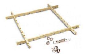 Large  1m x 1m Ajustable Batik Frame